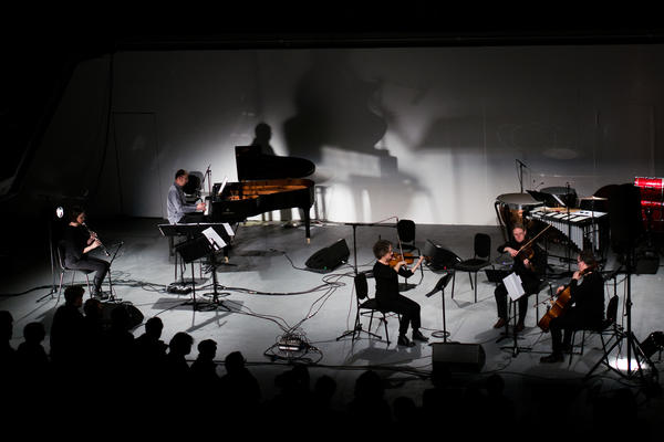 Apartment House performing 'I Stay Joined' by Sarah Hughes at London Contemporary Music Festival 2017