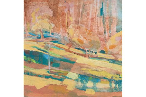 Heather_Gray_Newton_Woodland_Light_Plein_Air_at_West_Dean_Woods_Oil_on_canvas