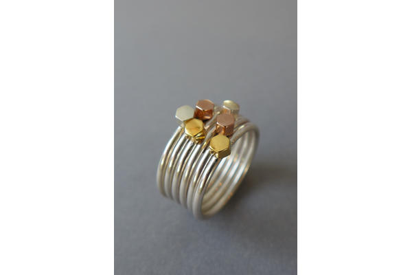 Laila Smith - Silver Stacking Rings short course
