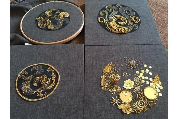Hanny Newton: Goldwork and Beading, 3