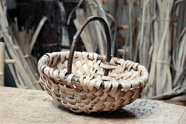 Lorna Singleton - Oak Spelk Basket