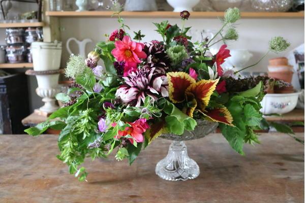Georgie Newbery flower arrangement