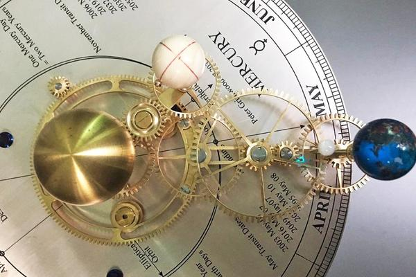 Orrery Making with Peter Grimwood