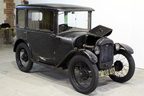 The car in question: 1928 Austin 7
