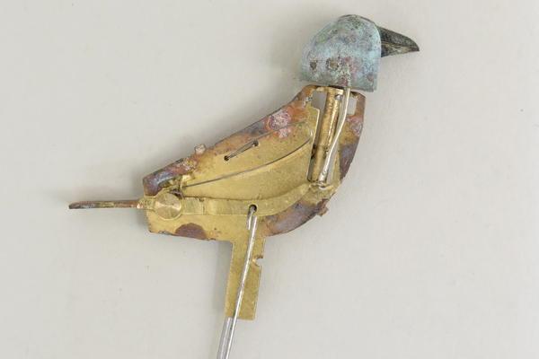 Bird beak & tail mechanism side after cleaning