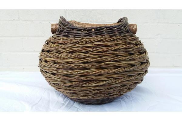 Bulbous herringbone weave