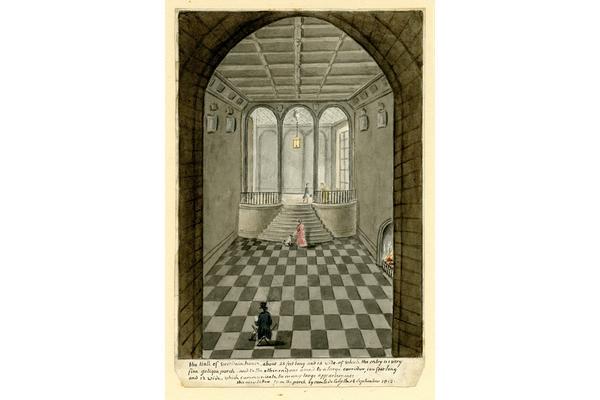 Comte de Cely, Marble hall 1812