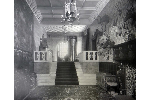 2 – The Marble Hall at West Dean House, c.1900