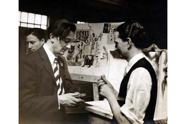 Dalí and James. © Salvador Dali, Fundació Gala-Salvador Dalí, DACS 2020