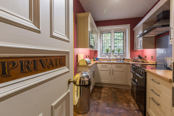 Kitchen in Foresters Cottage