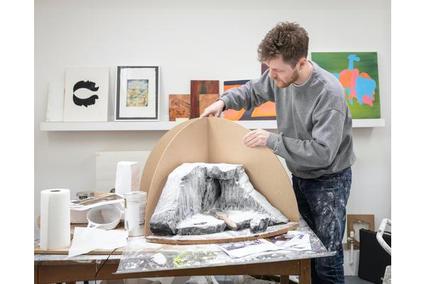 John Collett, Graduate Diploma Fine Art. © Christopher Ison