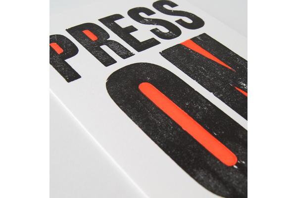 Tom Boulton, Letterpress - poster printing