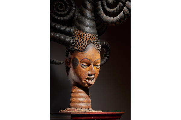Ekoi Headdress from South Eastern Nigeria