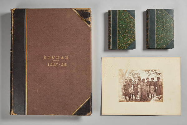 Frank James' Expedition album from Sudan dating to 1882.