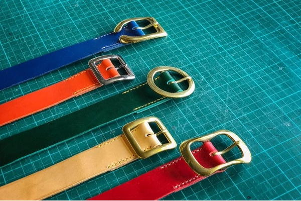 Make your own leather belt with Jeremy and Carla Bonner