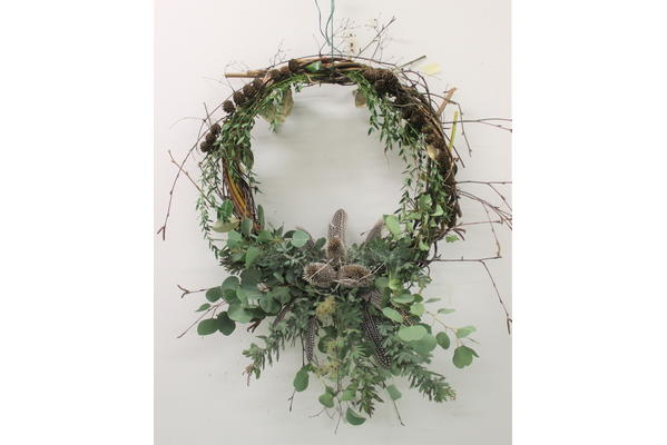 Contemporary Christmas decorations from foraged materials with Annie Guilfoyle
