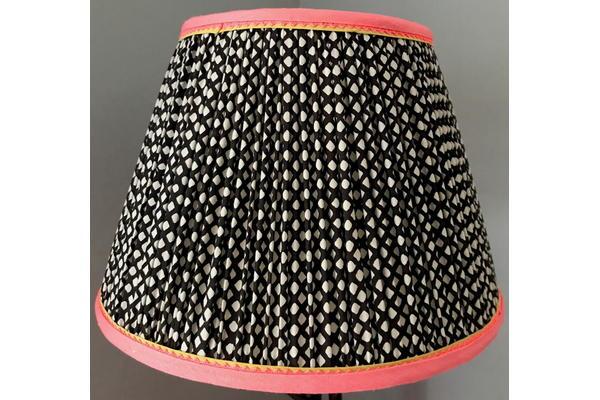 Eloise Scotland, gathered lampshade