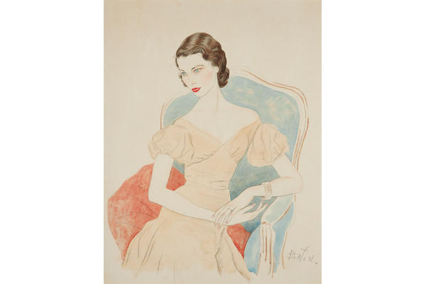 Cecil Beaton, Portrait of Tilly Losch