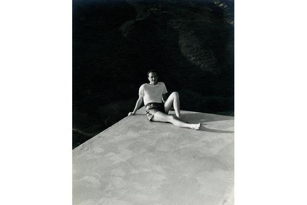 portrait of Edward James in Los Angeles, c.1940.