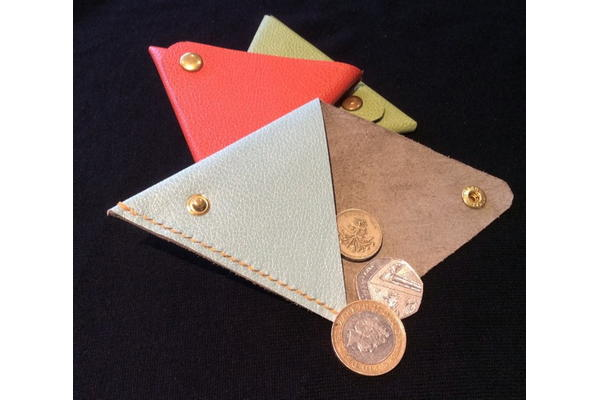 Make a leather slip, sheath and case with Jeremy and Carla Bonner, 2 November.