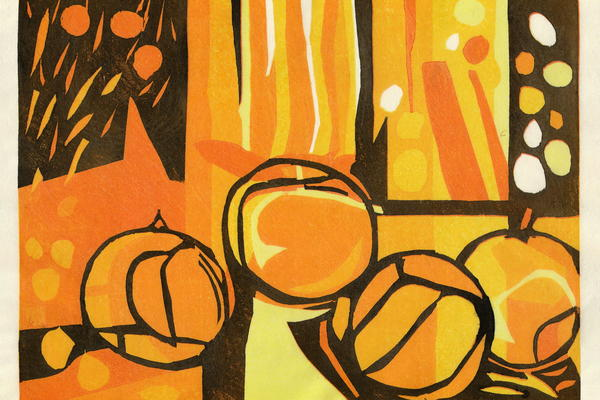 Sweet Oranges by Short Course Tutor Adrian Holmes