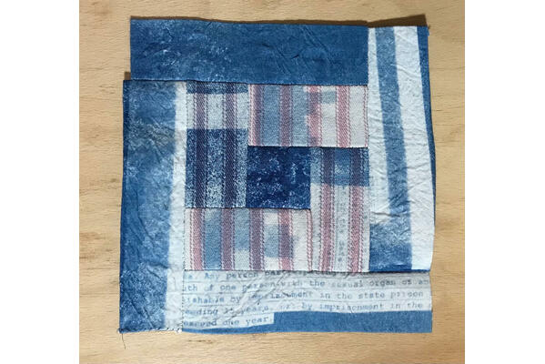One square of the law quilt