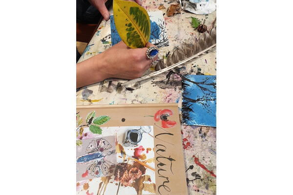 Nature journal – a springboard for creativity and textiles with Zoe Burt,  18 to 20 February 2022