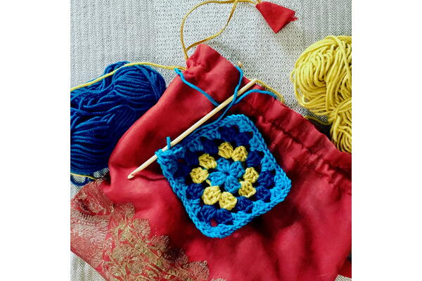 Crochet – modular shapes and stitches with Katy Bevan, 28 to 30 January 2022