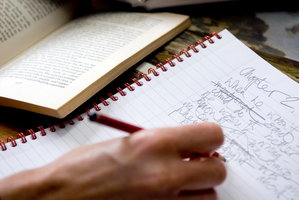 Student studying on the Creative Writing and Publishing course at West Dean College of Arts and Conservation