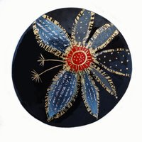 Sheila R McDonald: seed head brooch