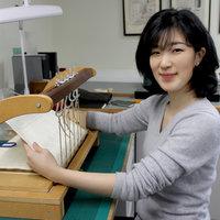Mito Matsumaru, alumna of West Dean College MA Conservation Studies