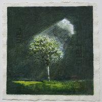Heather Gray-Newton - Activating Rain 'Rain', Oil on canvas