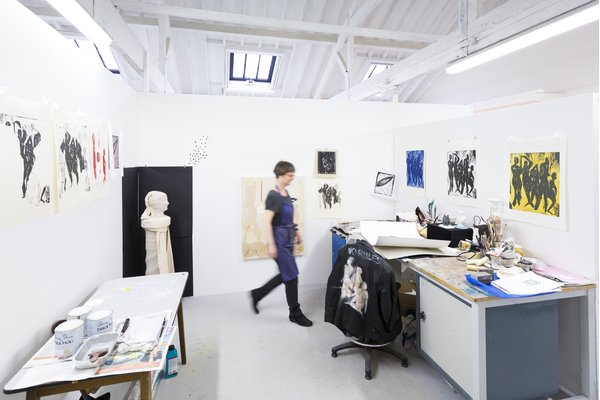 Visual Arts Student Facilities at West Dean College