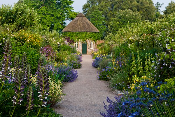 Apple Store and Summer Borders at West Dean Gardens