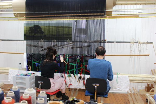 Tapestry Studio - West Dean College of Arts and Conservation UK