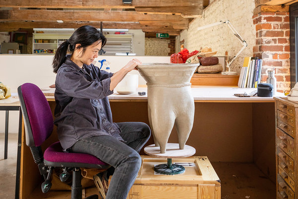 Renee So Artist in Residence at West Dean College of Arts and Conservation