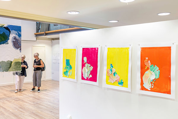Student art at West Dean Summer Show 2019