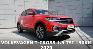 Volkswagen T-cross Style 1.5 Tsi 150KM 2020 PL TEST Carolewski  – [Video]