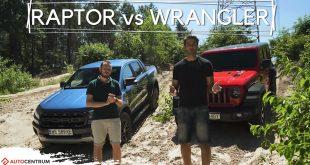 Jeep Wrangler Rubicon vs Ford Ranger Raptor – uśmiechy na godzinę  – [Video]