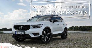 Volvo XC40 1.5 T5 Twin Engine 262 KM (AT) – przyspieszenie 0-100 km/h  – [Video]