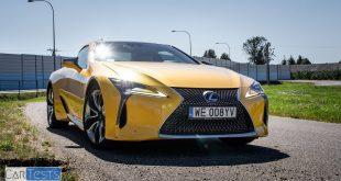 Lexus LC 500h w Polsce test ekonomiki i dynamiki PL Pertyn Ględzi  – [Video]