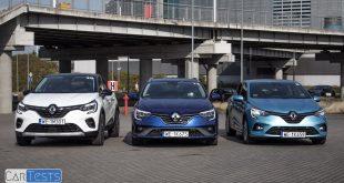 Hybrydowe Renault E-Tech: Clio, Captur i Megane – pierwsze jazdy PL Pertyn Ględzi  – [Video]