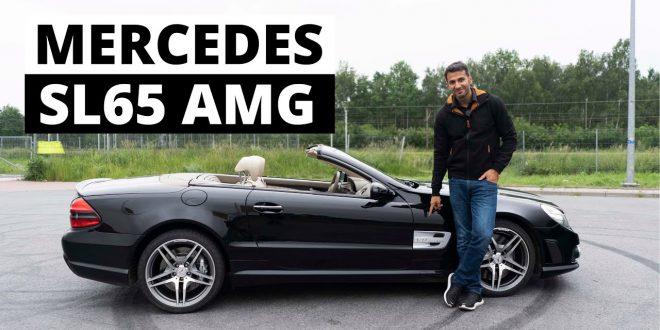 Droższych nie było – Mercedes SL65 AMG V12  – [Video]