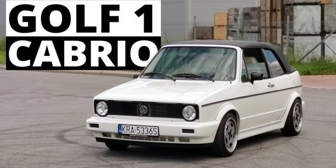 VW Golf 1 Cabrio – rentowna renowacja  – [Video]