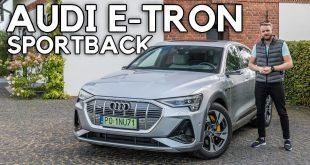 Audi e-tron Sportback – wstałem o 3:00 rano. Oby było warto  – [Video]