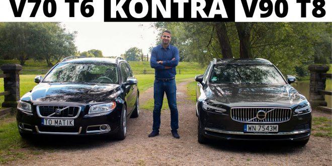 Nowe Volvo V90 T8 vs. 13-letnie V70 T6 –  rachunek zysków i strat  – [Video]