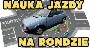 Złomnik: nauka jazdy na Rondzie  – [Video]