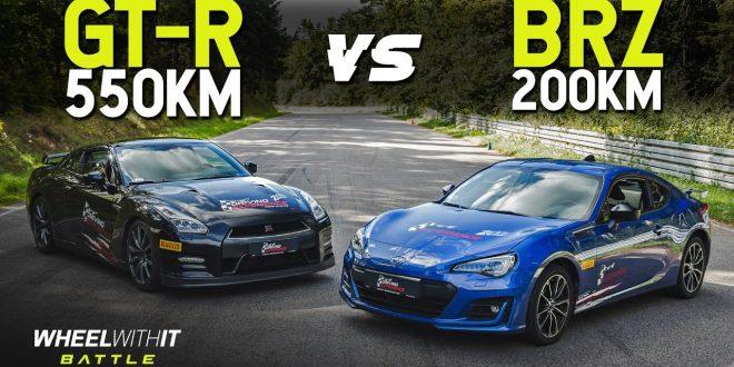 Czy moc ma znaczenie? Nissan GT-R vs Subaru BRZ – WWIT Battle #13  – [Video]