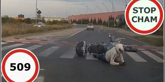 Stop Cham #509 – Niebezpieczne i chamskie sytuacje na drogach  – [Video]