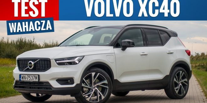 Volvo XC40 Recharge 2020 – TEST PL (T5 R-Design)  – [Video]